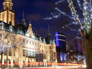 Kerstavond Rotterdam
